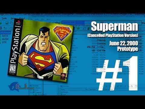 (Part 1) Superman [Unreleased PlayStation version] | June 22, 2000 Prototype