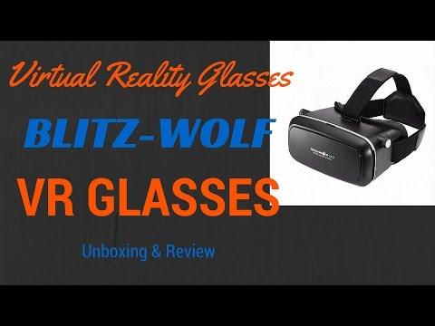 [Hindi BlitzWolf® VR Glasses Virtual Reality Headset Unboxing & Review | Sharmaji Technical