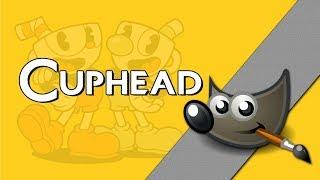 Jak zrobić napis z Cuphead? Gimp poradnik