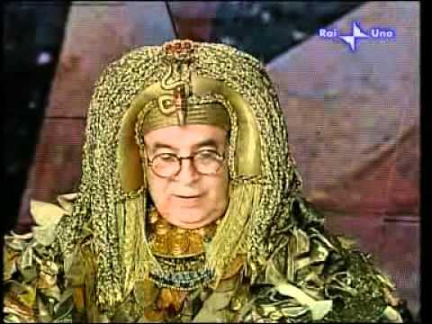 Raffaella Carrà e Cleopatra (Gianni Boncompagni)