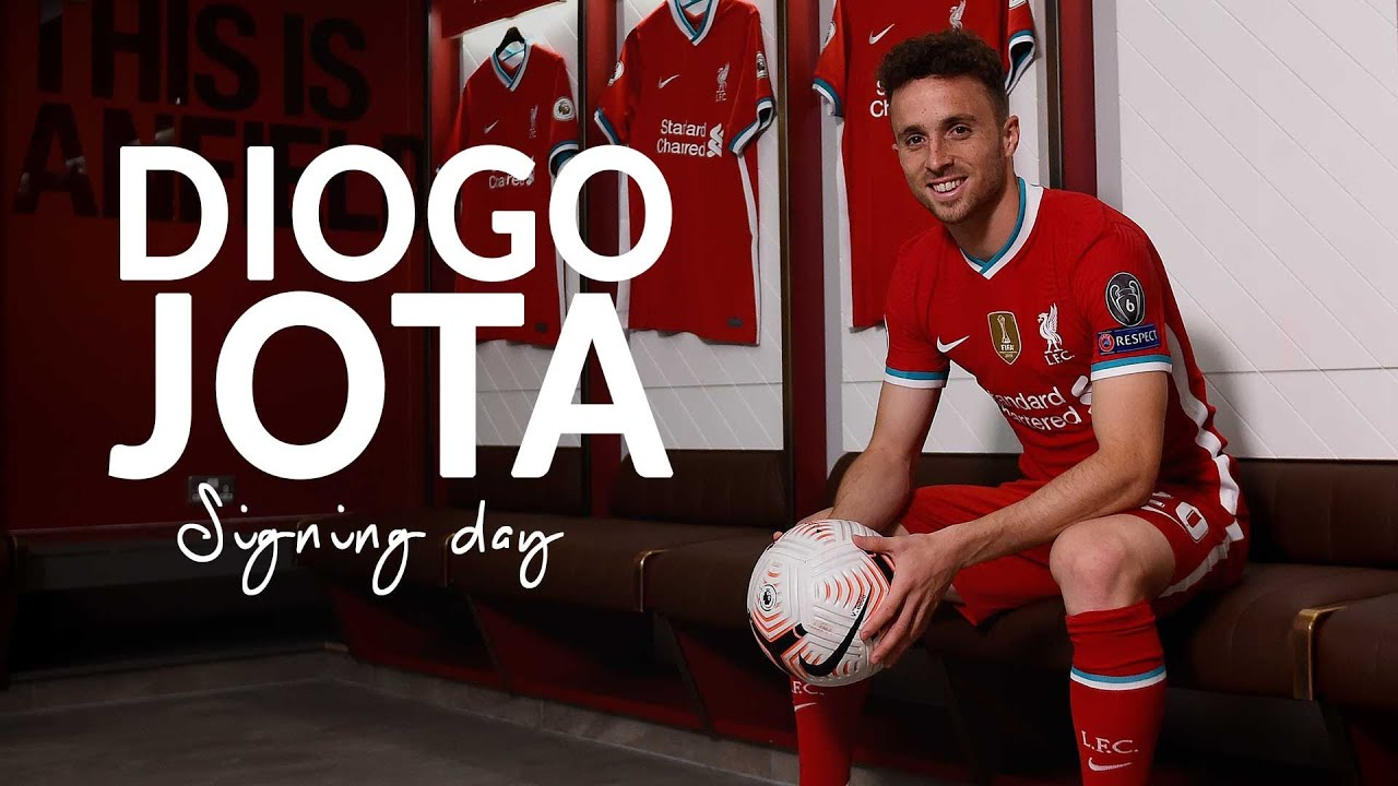 signing day behind the scenes on diogo jota s first day at liverpool youtube signing day behind the scenes on diogo jota s first day at liverpool
