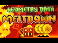 Geometry Dash Meltdown - All Coins (Levels 1-3)