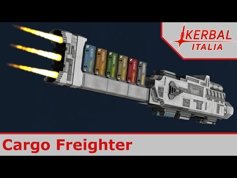 [ITA] Mod #149: Coyote Space Industries - Cargo Freighter
