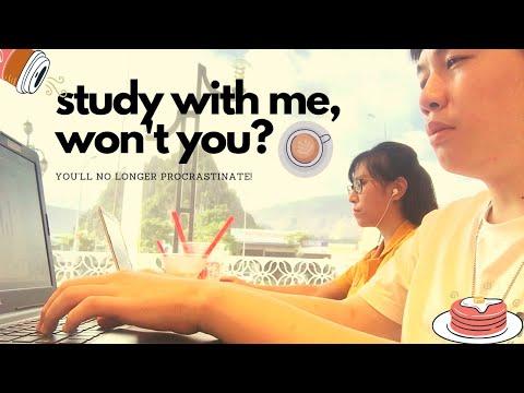 ĐI CÀ PHÊ NGỒI HỌC VỚI MÌNH! (1.5h, background noise, no music, no break) | Study With Me #3