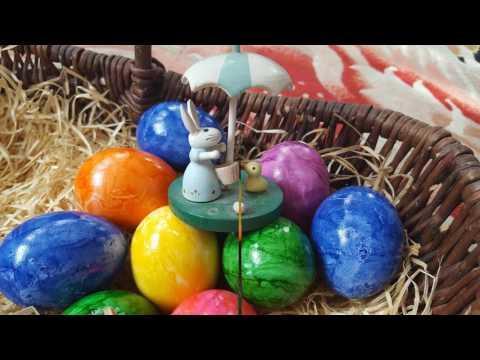 Путешествие в историю пасхи, почему зайцы и яйца в пасху?