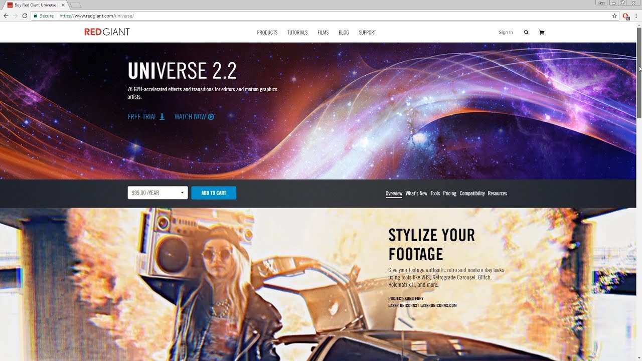 Review of Red Giant's UNIVERSE2 2 plugin