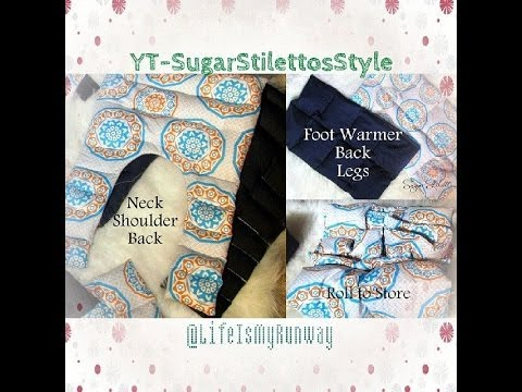 Diy Heating Pads Cold Packs Sugarstilettosstyl Youtube