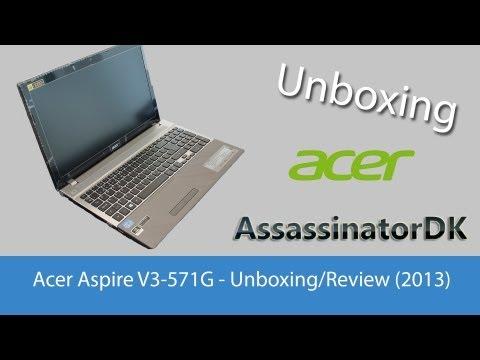 Acer Aspire V3-571G (Unboxing) [2013]