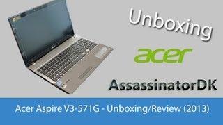 видео Acer Aspire V3-571G