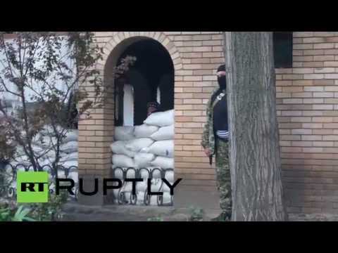 Ukraine: Self-defenders guard barricades following 'Kiev offensive'