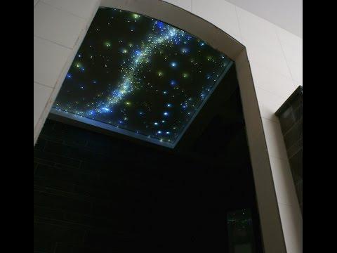 Ciel étoilé Fiber Optic Star Ceiling Led Light Design