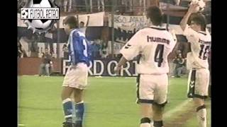 Velez 1 vs Gimnasia LP 2  fecha 13 Clausura 1995 FUTBOL RETRO TV