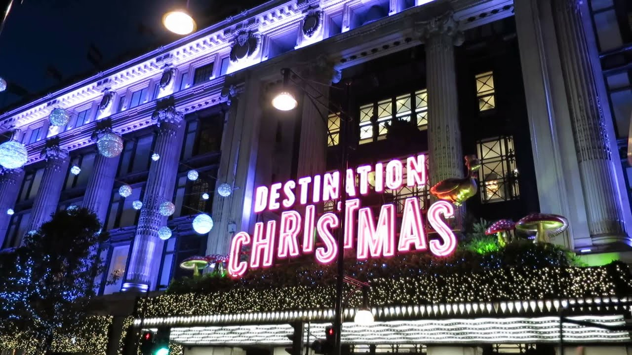 youtube premium - London Christmas Decorations