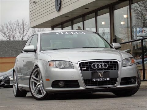 2008 Audi A4 S Line In Review Village Luxury Cars