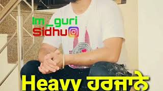 Sardara ve (See My Pain) Sukh Sandhu-latest song whatsapp statua video by Guri Sidhu Bhagu