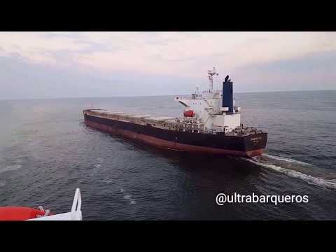 "Bulk Carrier ""NAVIOS SPHERA"" #HappyNewYear/""BITTER SWEET SYMPHONY"" by ""THE VERVE""/ALL FINE ORCHESTRA"