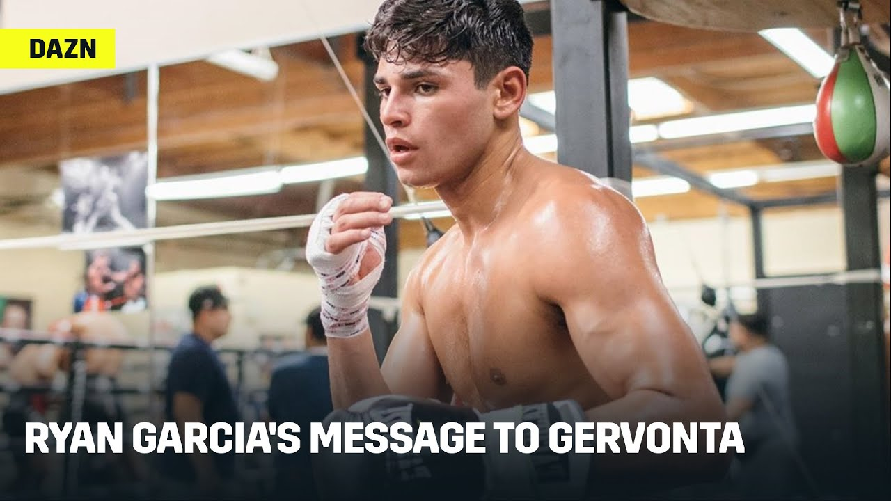Ryan Garcia Has Bold Message for Gervonta Davis, Wants To Knock Him Out