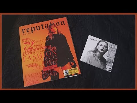 Taylor Swift - reputation (CD + Target Exclusive Magazine Volume 1) Unboxing