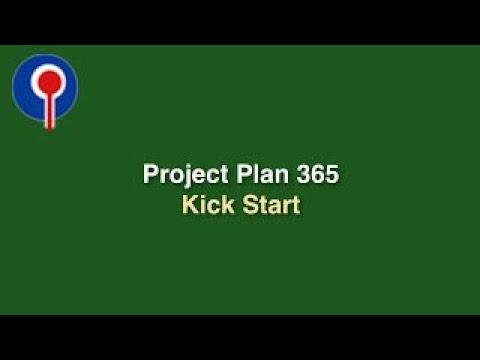 Project Plan 365 Kick Start - YouTube