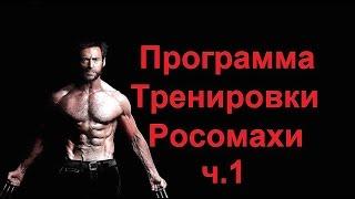 Хью Джекман - программа тренировки Росомахи. Мышцы Груди / Hugh Jackman - workout Wolverine