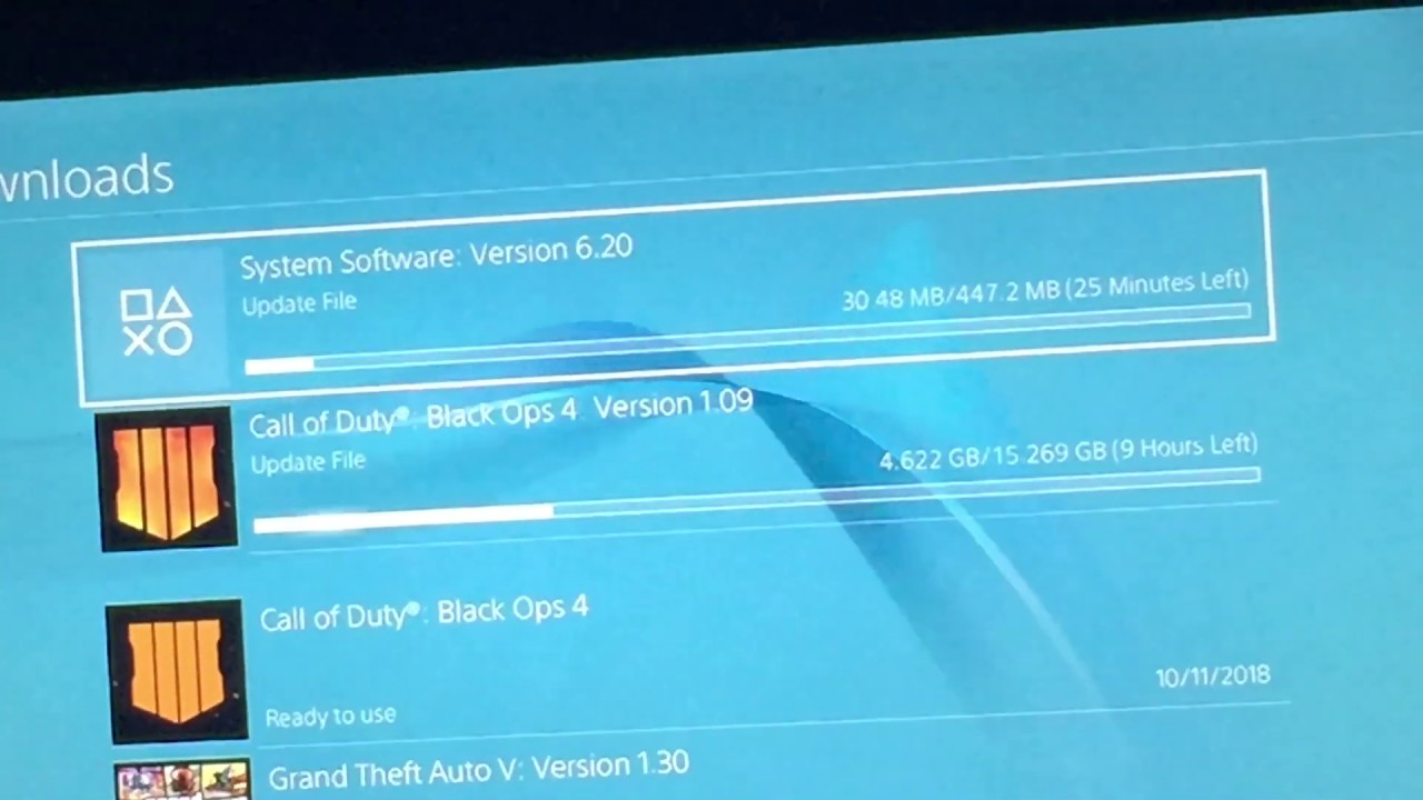 Playstation 4 System Software  Version 6 20 Update Is Here
