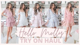 HELLO MOLLY TRY ON HAUL 2020 | SUMMER TO FALL OUTFITS