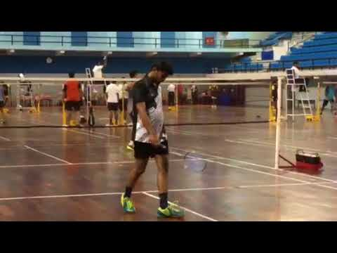 Today dtd. 28.03.208 - Badminton Match between Kerala State Electricity Board & MAHAGENCO Player Mr