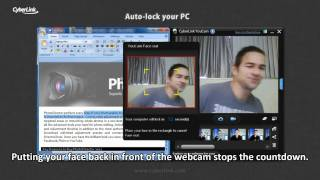 CyberLink YouCam 5 - Auto-lock your PC with your webcam
