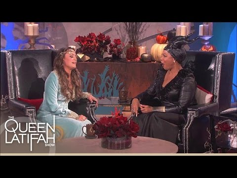Leah Remini Sees Ghost! | The Queen Latifah Show