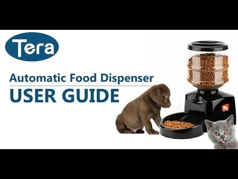Tera Automatic Food Dispenser | Futterautomat - User Guide