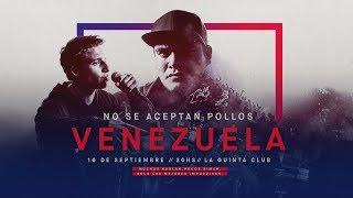 No Se Aceptan Pollos - Final Nacional Venezuela 2018 | Red Bull Batalla De Los Gallos