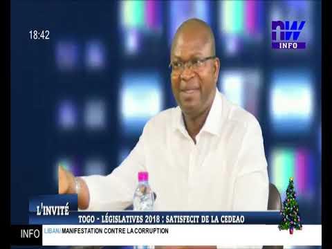 Togo – Législatives 2018 : satisfecit de la CEDEAO (l'invité 24 12 2018)