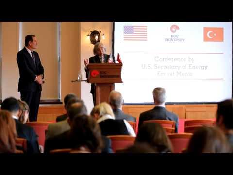 U.S. Secratary of Energy Ernest Moniz's Speech at Koç University