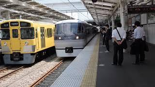 西武 10000系 所沢駅発車