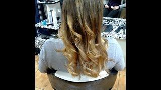 окрашивание омбре.Ombre Hair Color(, 2014-01-21T15:47:07.000Z)