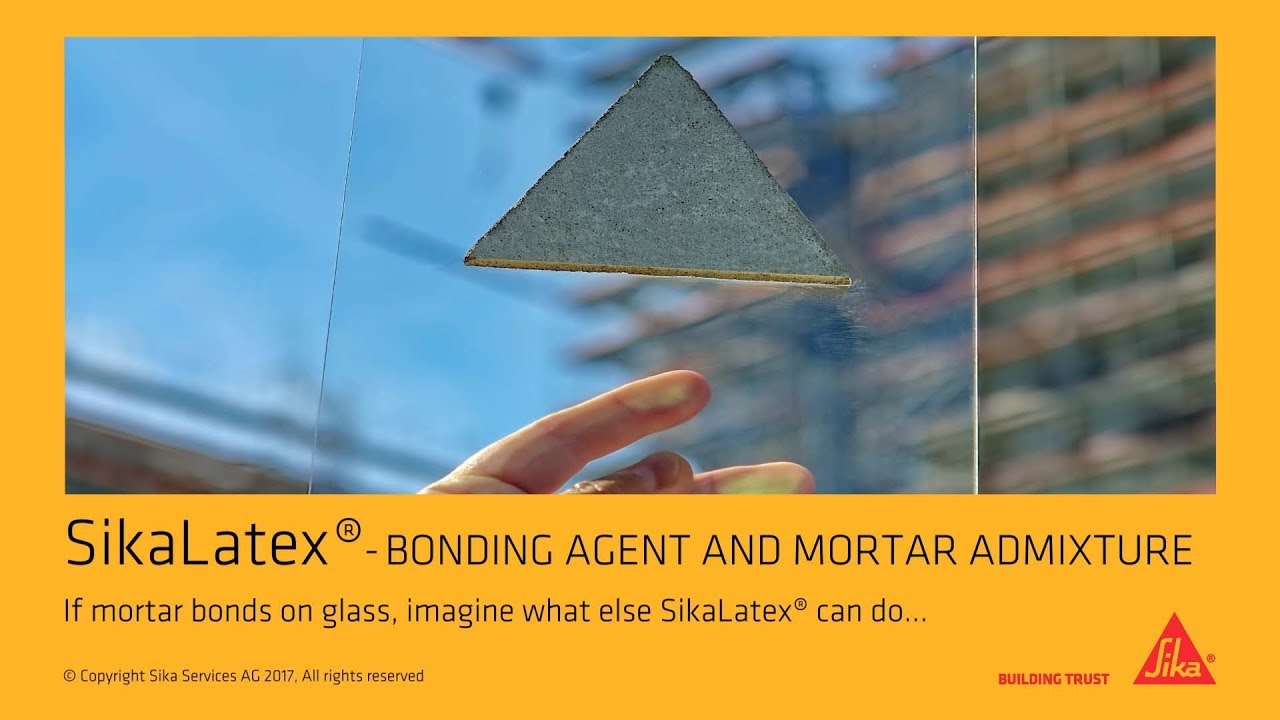 SikaLatex® - Bonding Agent and Mortar Admixture
