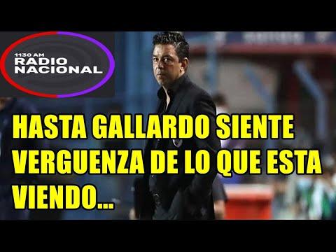 """RADIO NACIONAL DE URUGUAY MUY CALIENTES  - NACIONAL 2 RIVER 6 """"HASTA GALLARDO SIENTE VERGUENZA"""""""