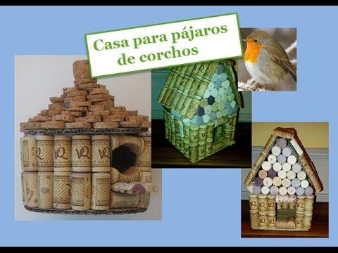 Instrucci n como hacer una casa para p jaros de corchos for Programa para distribuir una casa
