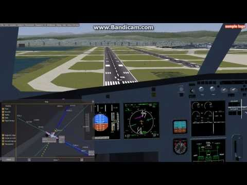 Flight Gear - COOL LANDING - Airbus A321