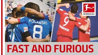 Hoffenheim vs. bayern münchen - the fastest goal and late lewandowski strike