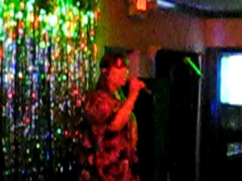 RED NECK WOMAN SUNG BY EVELYN OF SINGERS KARAOKE KLUB, POMPANO BEACH, FLORIDA