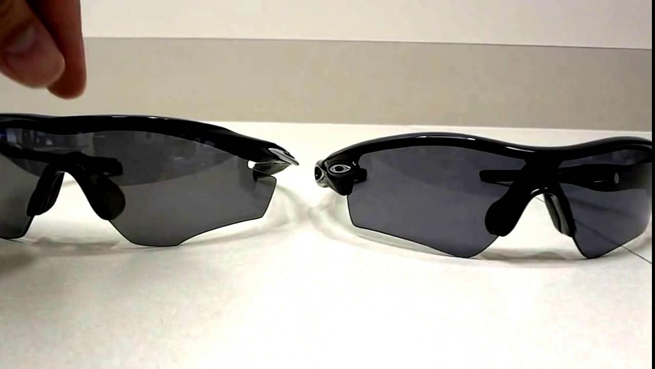Review and Comparison of Oakley M2 Frame vs. Radar Path - YouTube