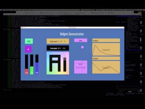 GUI Widget Framework Written In Rust - Conrod Demo