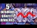5 Infamous Graffiti Rivalries (Beefs)