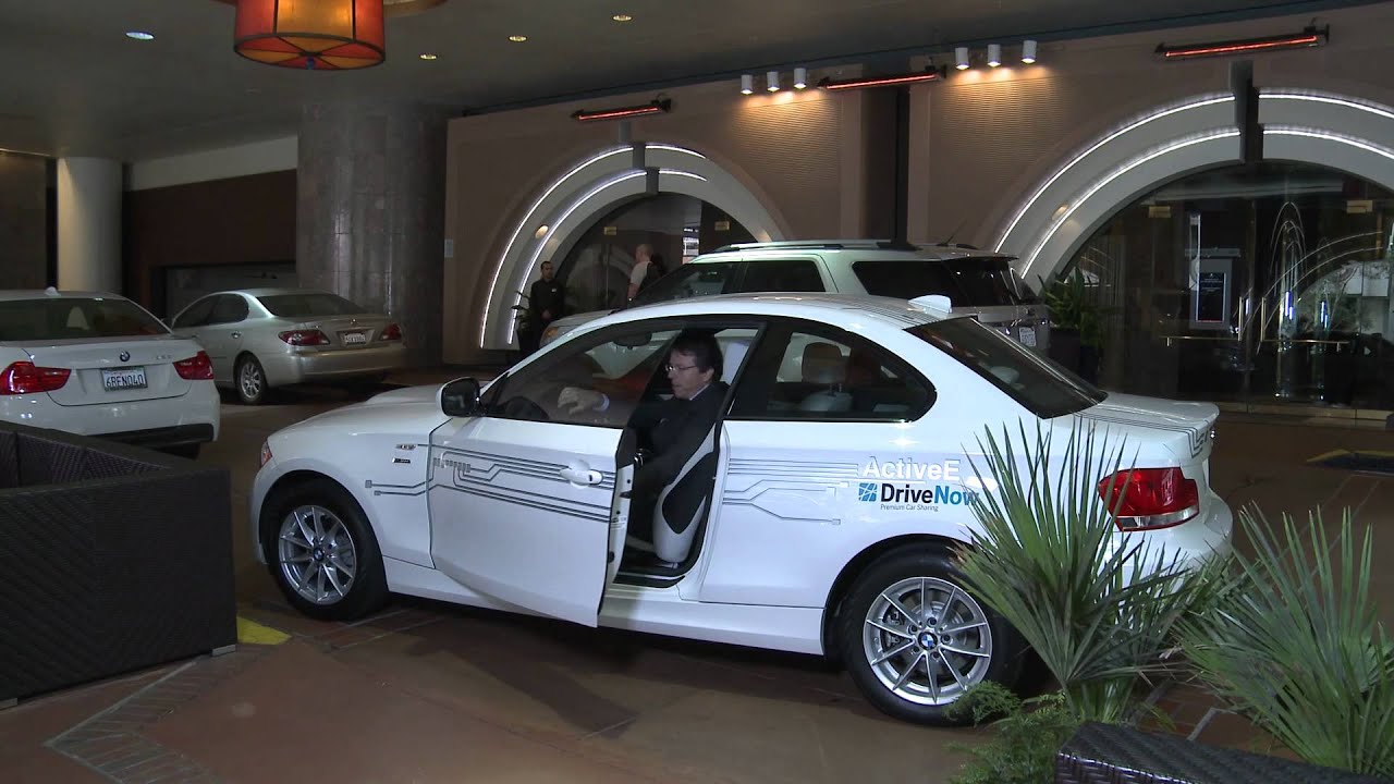 Launch Of Parknow And Drivenow In San Francisco