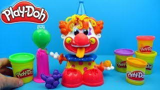 Play-Doh Clown Toy Unboxing, Review and playing