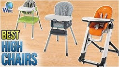 10 Best High Chairs 2018