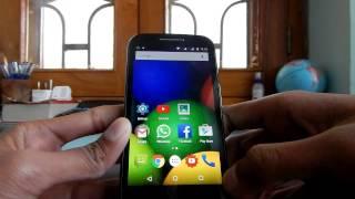 Moto E Android Lollipop 5.0.2 : Overview