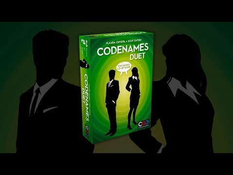 Codenames Duet - Is this the best 2 player board game?