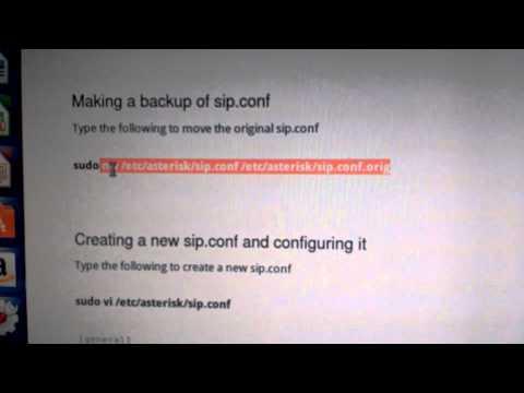 Instalación y Configuración Asterisk, mas Linphone, en Ubuntu  Voz